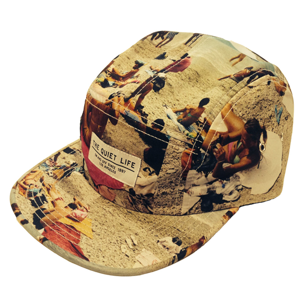 The Quiet Life Beach 5 panel cap