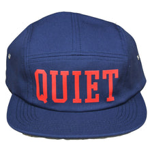 Load image into Gallery viewer, The Quiet Life Big Text navy 5 Panel Cap
