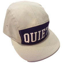 Load image into Gallery viewer, The Quiet Life Big Text stone/purple 5 Panel Cap