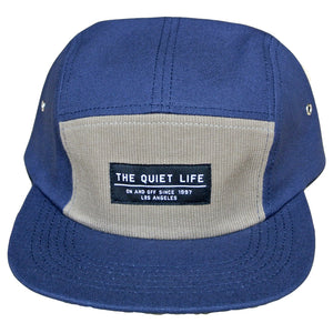 The Quiet Life Campfire navy/moss 5 Panel Cap
