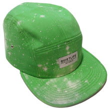 Load image into Gallery viewer, The Quiet Life Cosmos Lime 5 Panel Cap