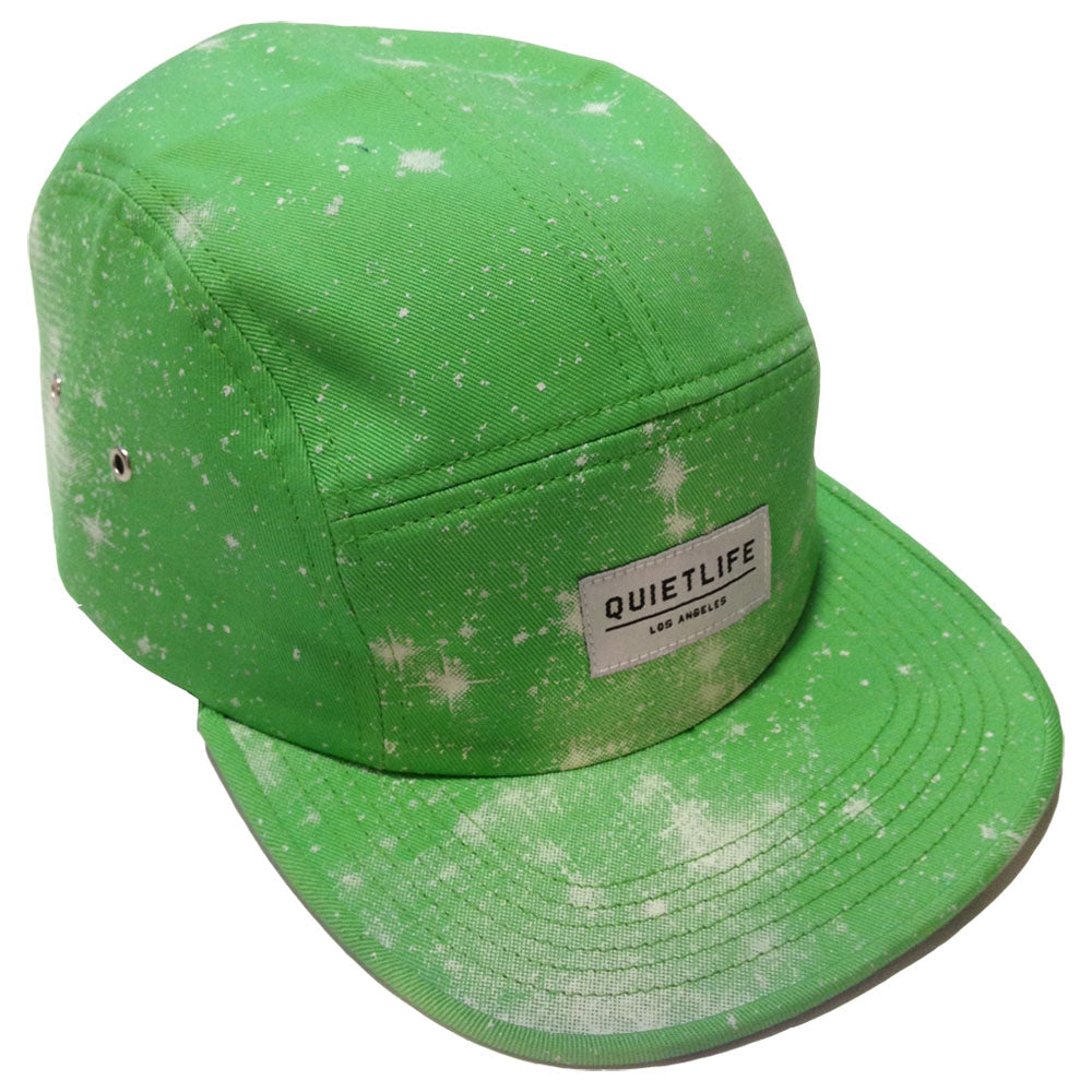 The Quiet Life Cosmos Lime 5 Panel Cap