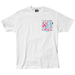 The Quiet Life Morin white pocket T shirt