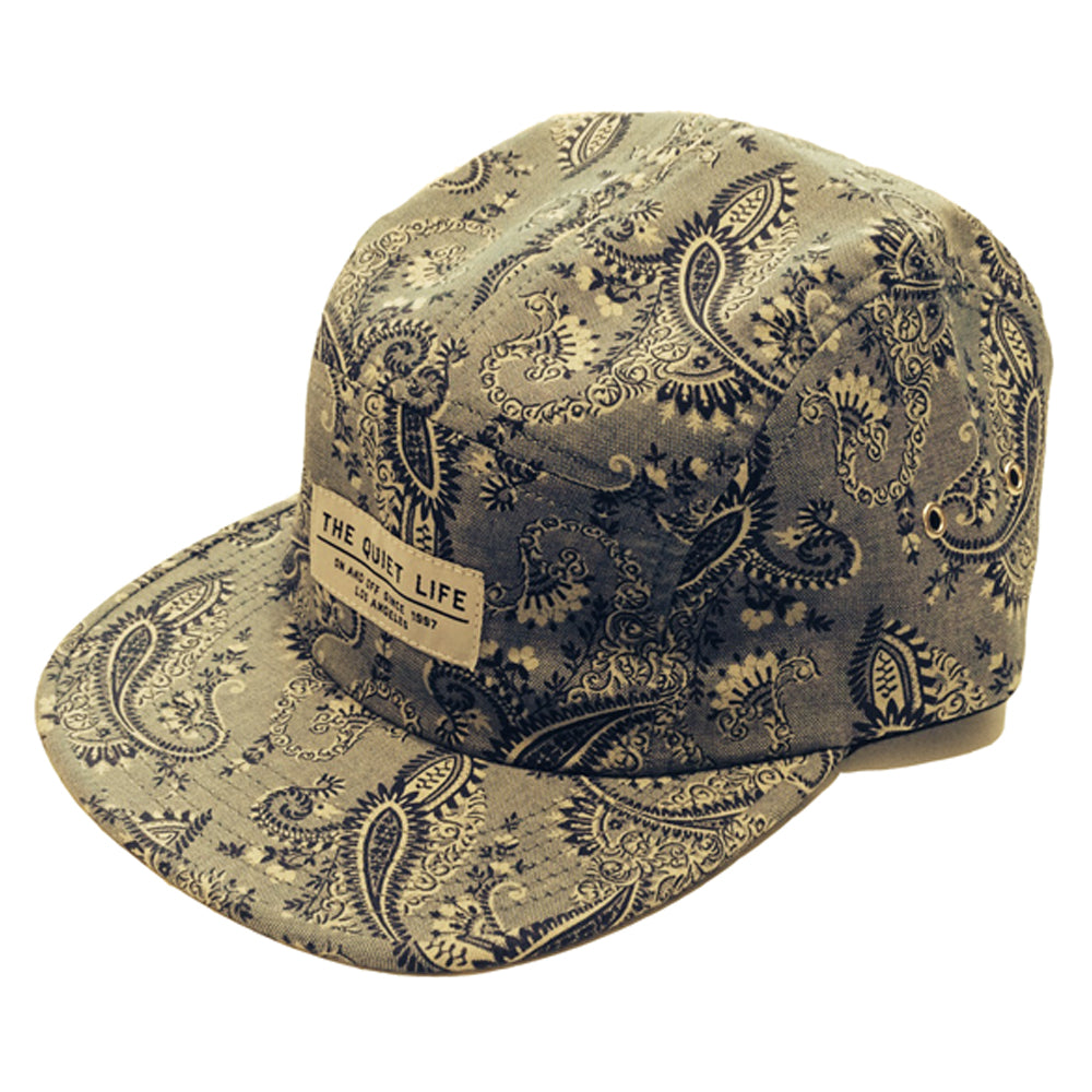 The Quiet Life Paisley 5 panel cap