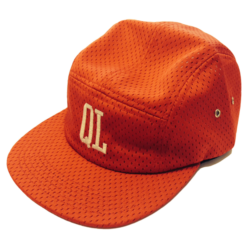 The Quiet Life Whistle red mesh 5 panel cap