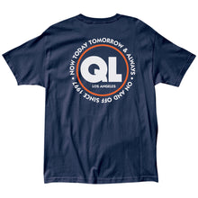 Load image into Gallery viewer, The Quiet Life Deco navy T shirt