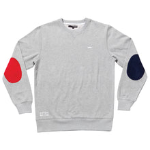 Load image into Gallery viewer, The Quiet Life Dual heather grey crew