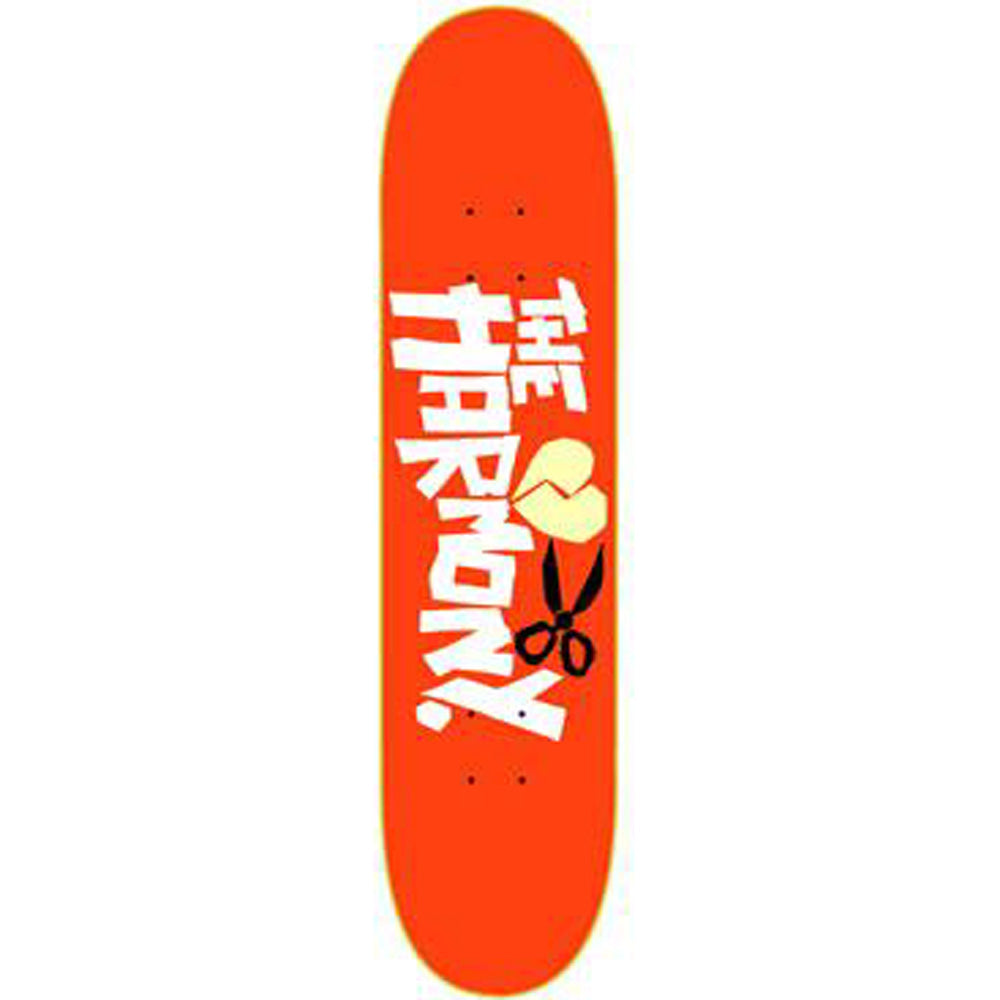 The Harmony No Love orange deck