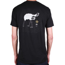 Load image into Gallery viewer, Theories Ostrich Effect black T shirt