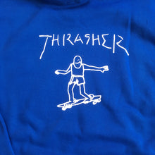 Load image into Gallery viewer, Thrasher Gonz Hoody royal blue