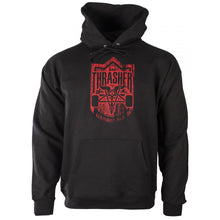 Load image into Gallery viewer, Thrasher x Habitat Dark Forest Goat black hood