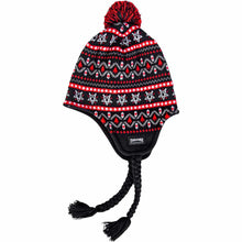 Load image into Gallery viewer, Thrasher Magazine Logo Sherpa  beanie black/red