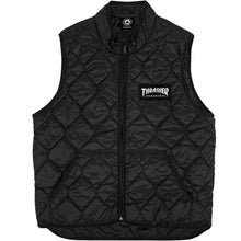 Load image into Gallery viewer, Thrasher Magazine Logo Vest black