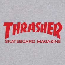 Load image into Gallery viewer, Thrasher Skate Mag T shirt grey/red