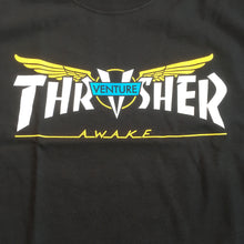Load image into Gallery viewer, Thrasher x Venture T shirt black