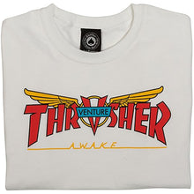 Load image into Gallery viewer, Thrasher x Venture T shirt white