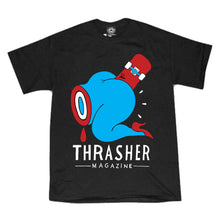 Load image into Gallery viewer, Thrasher X Parra Credit Card black T Shirt