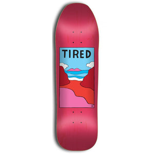 Tired Beach pink deck 9""