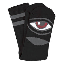 Load image into Gallery viewer, Toy Machine Bloodshot Sect Eye black socks