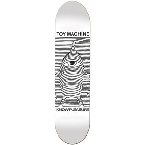 Toy Machine Toy Division white deck 8.125""