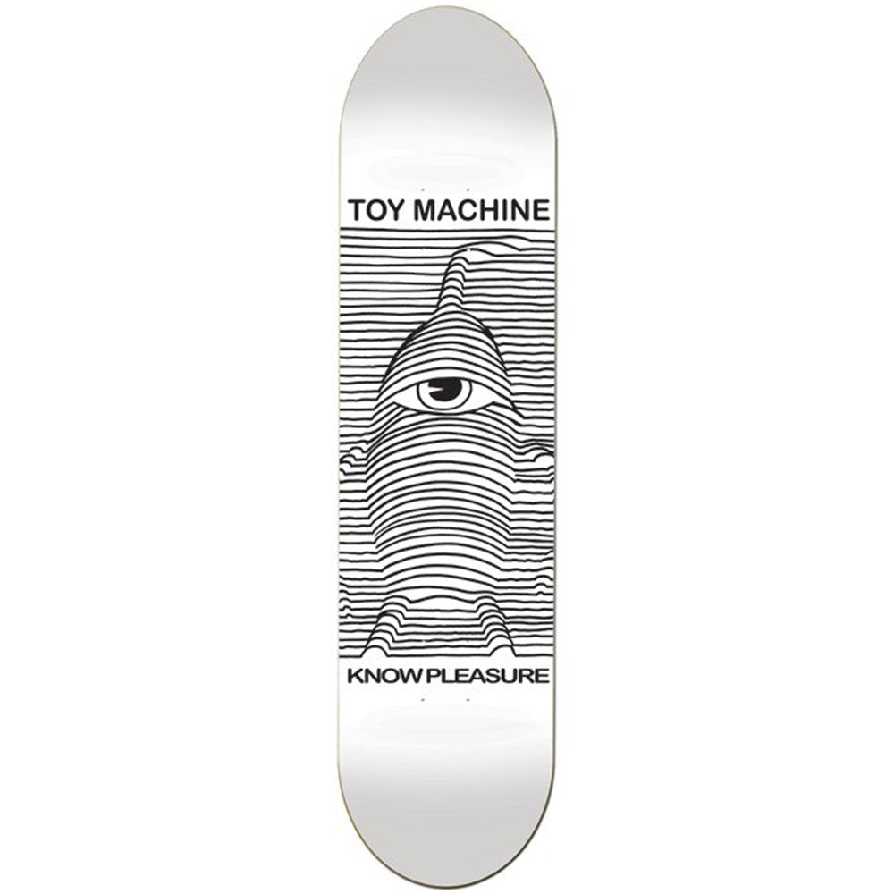 Toy Machine Toy Division white deck 8.125