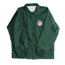 Load image into Gallery viewer, RIPNDIP Tropical Fatty green coach jacket