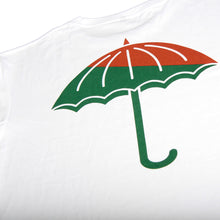Load image into Gallery viewer, Helas Umbrella green/red white T shirt