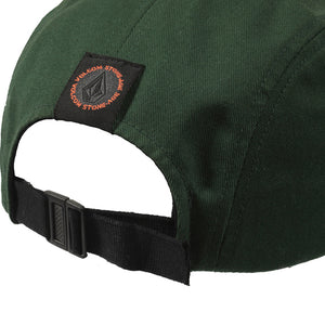 Volcom 5 Panel expedition green cap
