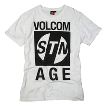 Load image into Gallery viewer, Volcom Stone Pillage white T shirt