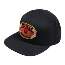 Load image into Gallery viewer, Volcom Winger navy snapback cap