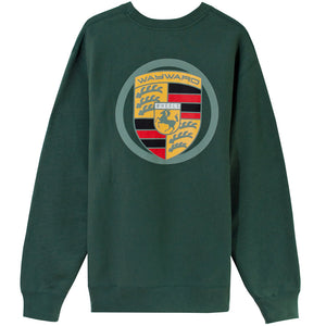 Wayward Badge Sweater alpine green