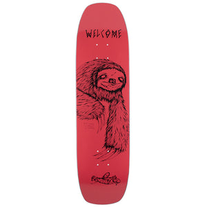 Welcome Sloth Wormtail coral deck 8.4""