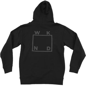 WKND Reflective hoodie black/silver