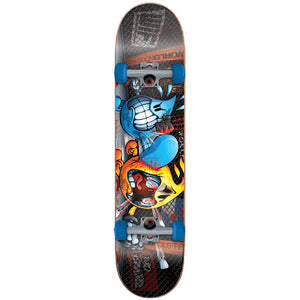 "World Industries Beat Down Willy mini size 7"" complete skateboard"