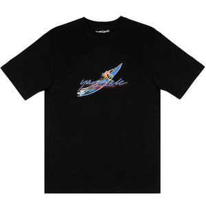 Yardsale Aerial T shirt black