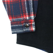 Load image into Gallery viewer, Yardsale Patchwork Shirt black/navy