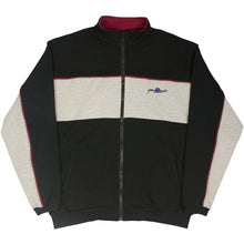 Load image into Gallery viewer, Yardsale Southside track top black/heather