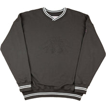 Load image into Gallery viewer, Yardsale YS Embossed crew charcoal