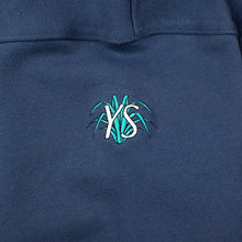 Load image into Gallery viewer, Yardsale YS Embossed crew navy