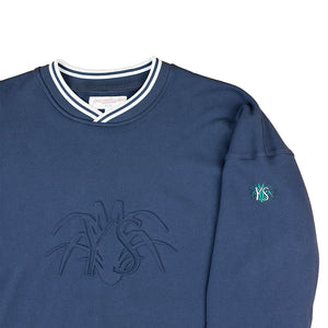 Yardsale YS Embossed crew navy