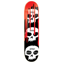 "Load image into Gallery viewer, Zero 3 Skull With Blood black 7.875"" deck"