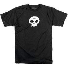 Load image into Gallery viewer, Zero Single Skull T shirt black