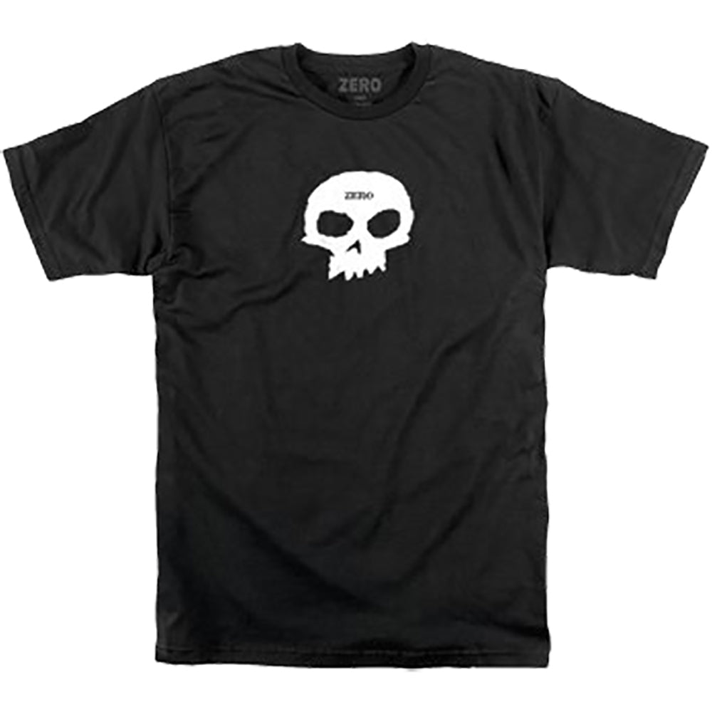 Zero Single Skull T shirt black