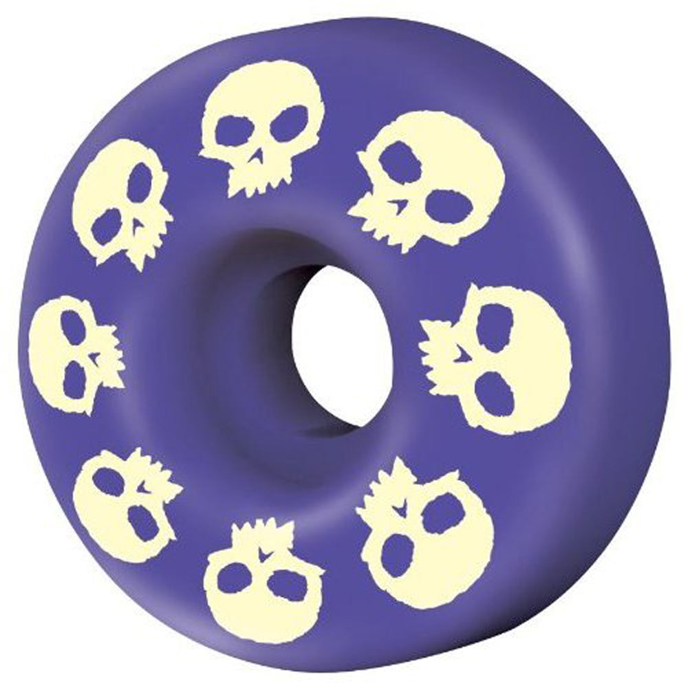 Zero Signature Skull Purple 51mm wheels