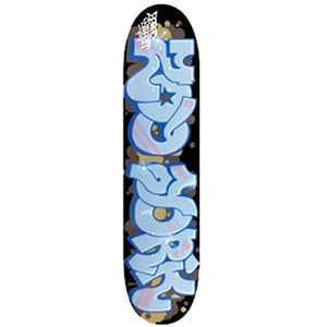 Zoo York Bassett Graffiti deck
