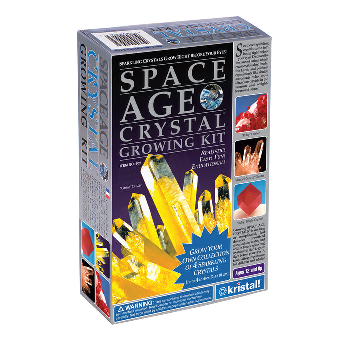 Space Age Crystals® - Item 502: Grow 4 Crystals