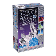 "Load image into Gallery viewer, Space Age Crystals® - Item 503: Grow 4 Crystals ""Quartz"", ""Amethyst"", ""Emerald"" & ""Fluorite"""