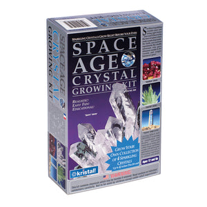 Space Age Crystals® - Item 503: Grow 4 Crystals