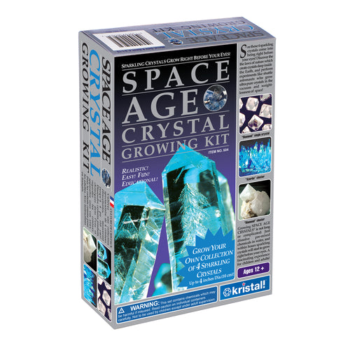 Space Age Crystals® - Item 504: Grow 4 Crystals