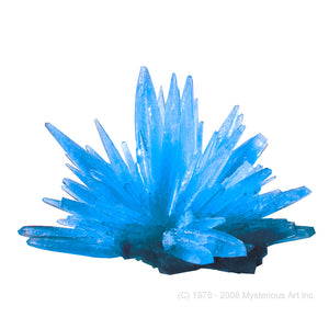"Space Age Crystals® - Item 694: Grow ""Frozen Aquamarine"""
